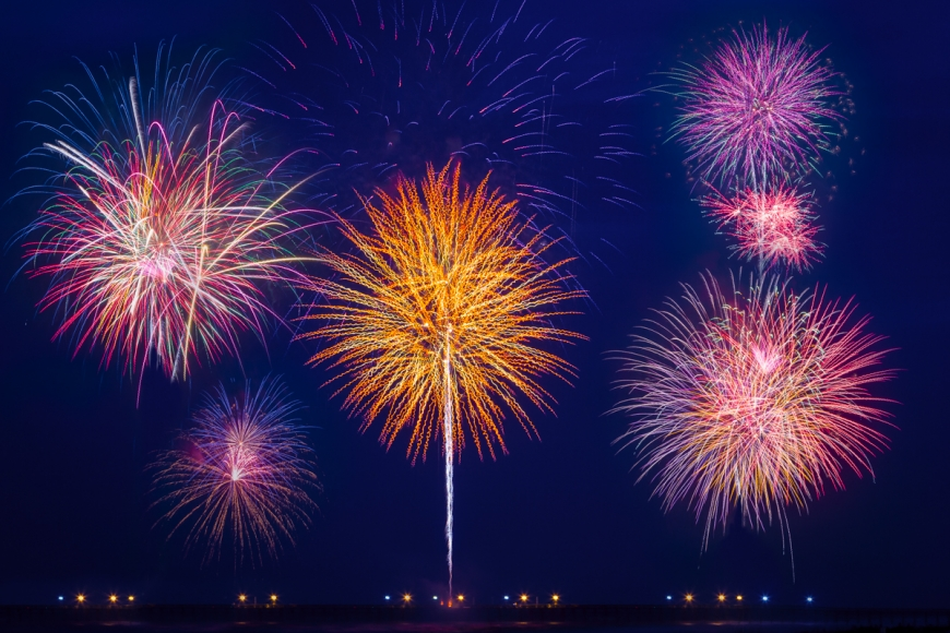 Asheville NC Photographer Fireworks Photos How To Long Shutter Speed-11