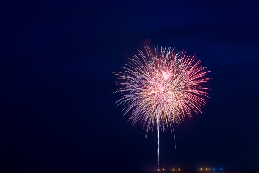 Asheville NC Photographer Fireworks Photos How To Long Shutter Speed-3
